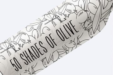 50 Shades Of Olive Hand Drawn Illustrations Mega Pack