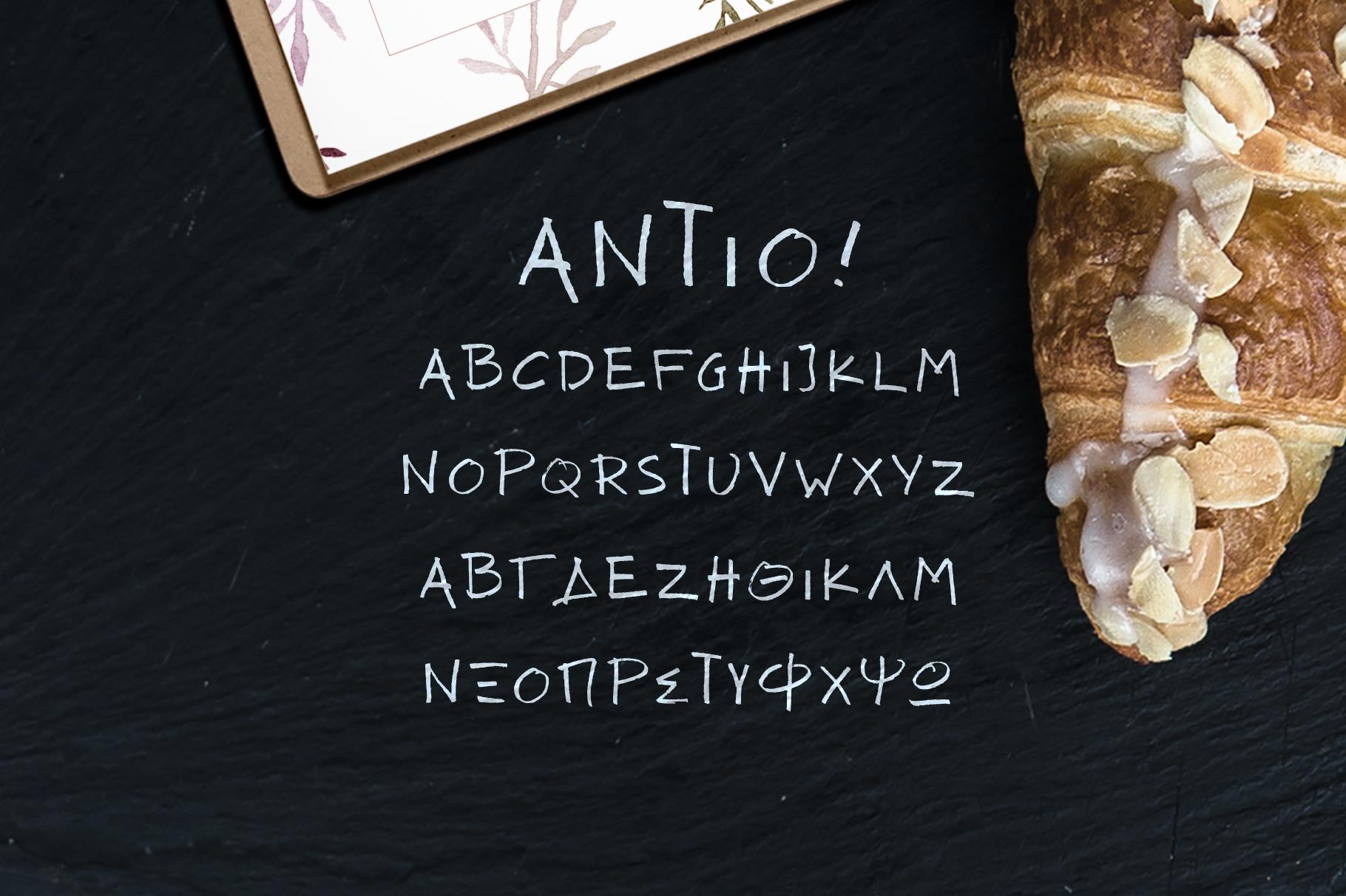 ANTIO! Prokopis Duo Font
