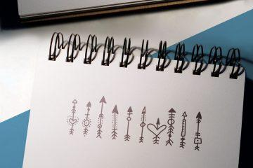Boho-Chic Arrows & Deco Vector Pack