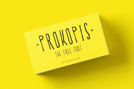 Font Prokopis, Instant Free download