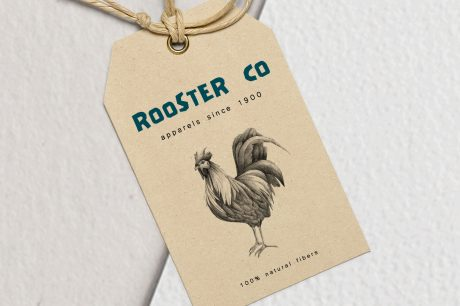 Hand drawn Rooster Illustration
