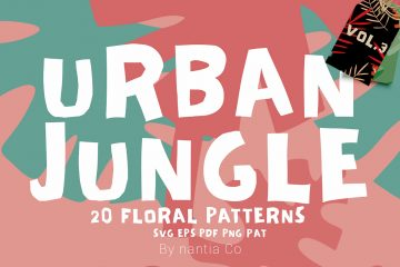 Seamless Patterns 20 x Urban Jungle Vol 3