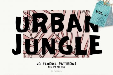 Seamless Patterns 20 x Urban Jungle Vol 2