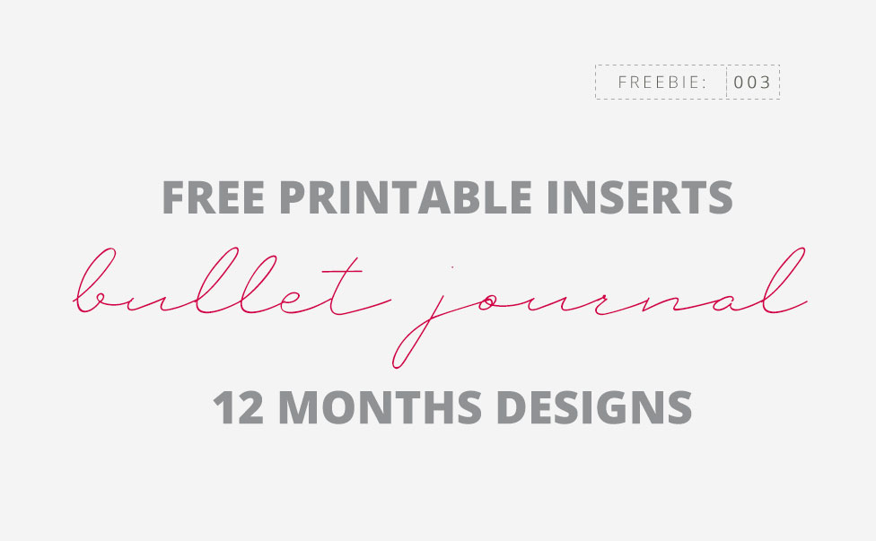 photograph regarding Free Printable Fonts named Absolutely free Bullet Magazine 12 Weeks Models A5 Printable Inserts